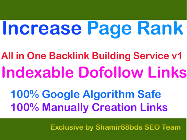Natural All in One Backlink Building Service